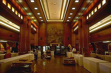 First Class Dining Room looking aft