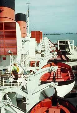 Queen Mary Lifeboats