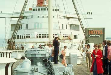 Queen Mary in 1978