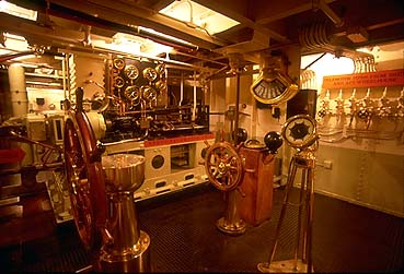Aft Engine Room Emergency Steering Station