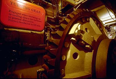 Queen Mary Turning Gear