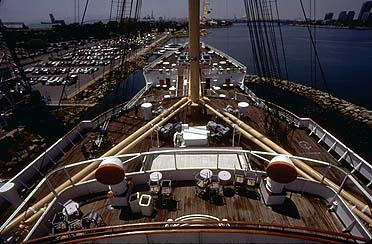 The Bow from Sun Deck