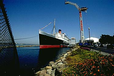 Bungee Tower next to Queen Mary, now gone