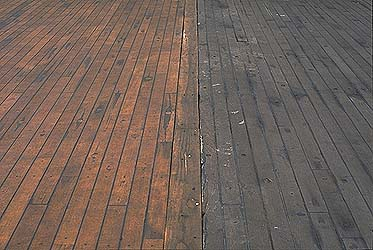 Sun Deck Teak Decking Restoration