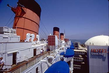Queen Mary Port Funnel View
