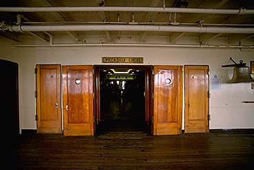 Queen Mary Promenade Deck Entrance